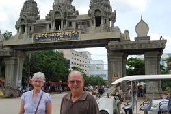 Mum and Dad at Thai/Cambodia border