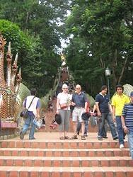 300 Steps up to Wat Phrathat Doi Suthep
