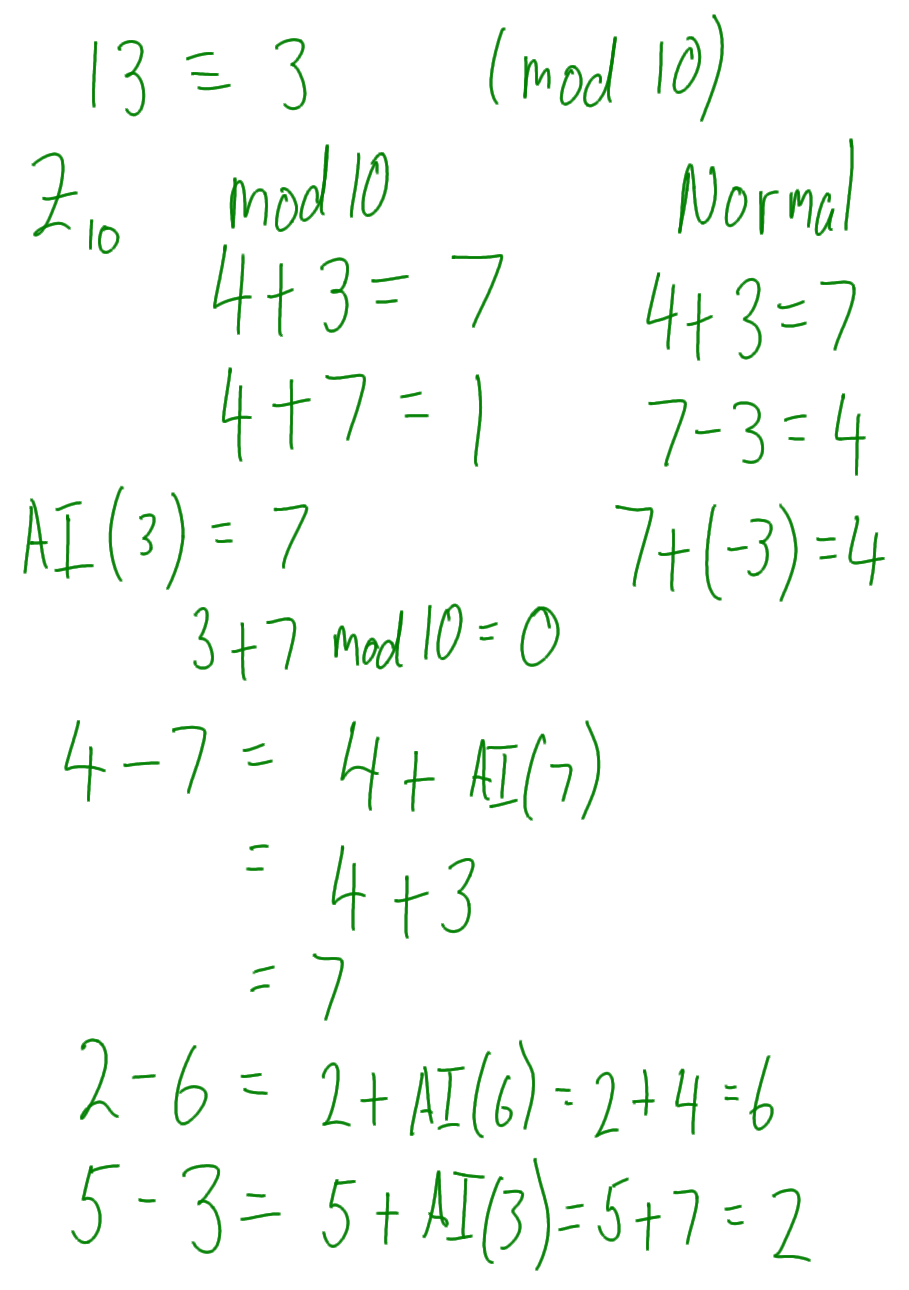 Number theory css322 s2 2013 divisors factors examples addition and subtraction in modular arithmetic publicscrutiny Image collections